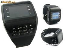 Двух диапазонный (900MHz, 1800MHz) мобильный телефон часы с сенсорным...