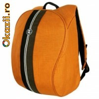 Crumpler Messenger Boy Full Photo portocaliu Rucsac foto + laptop.