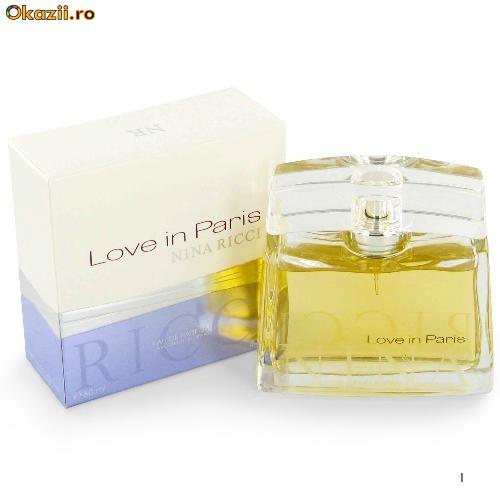 Купить Женская парфюмированная вода Nina Ricci Love In Paris 80 ml.